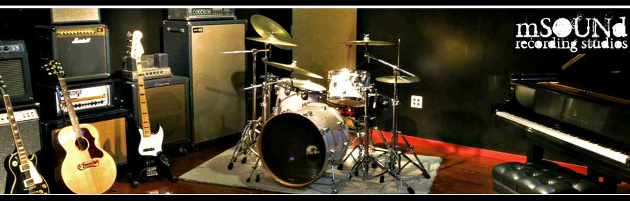 mSound Recording Studios, Philadelphia