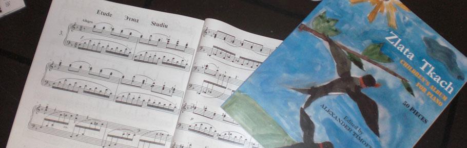 ISPC Edition of Zlata Tkach's Children Piano Pieces